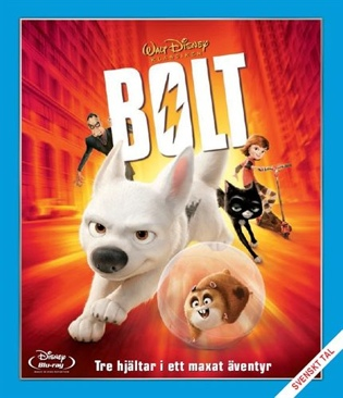 Bolt - Blu-ray cover