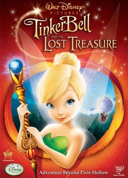 Tinker Bell and the Lost Treasure - Blu-ray cover