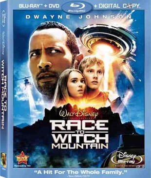 Race to Witch Mountain - Blu-ray cover