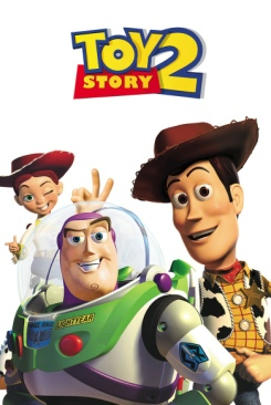 Toy Story 2 - VHS cover