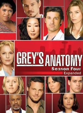 Grey's Anatomy - DVD cover