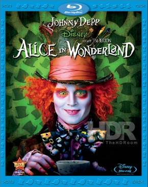 Alice in Wonderland - Blu-ray cover