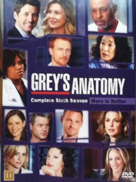 Grey's Anatomy - HD DVD cover