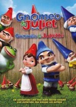 Gnomeo & Juliet - DVD cover