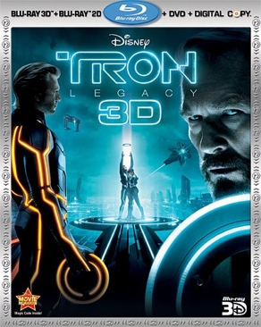 Tron Legacy + 3D  - Blu-ray cover