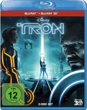 Tron 2: Legacy - Blu-ray cover