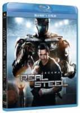 Real Steel - Blu-ray cover