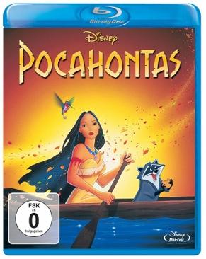 Pocahontas - Blu-ray cover