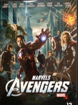Avengers - DVD cover