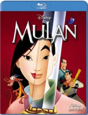 Mulan - Blu-ray cover