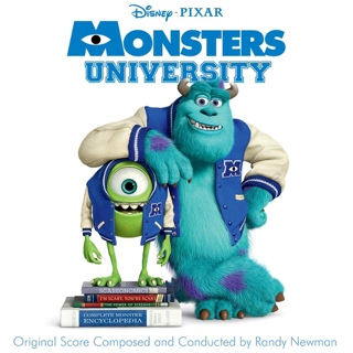 Monsters University - Blu-ray cover