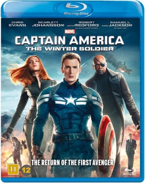 Captain America: The Winter Soldier - Blu-ray cover