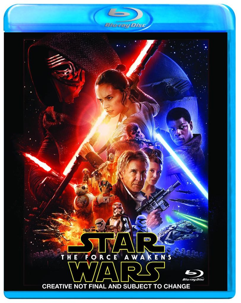 Star Wars Episode 7 (VII): The Force Awakens -  cover