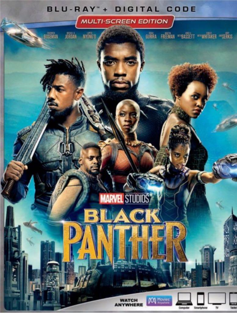 MCU: Black Panther -  cover