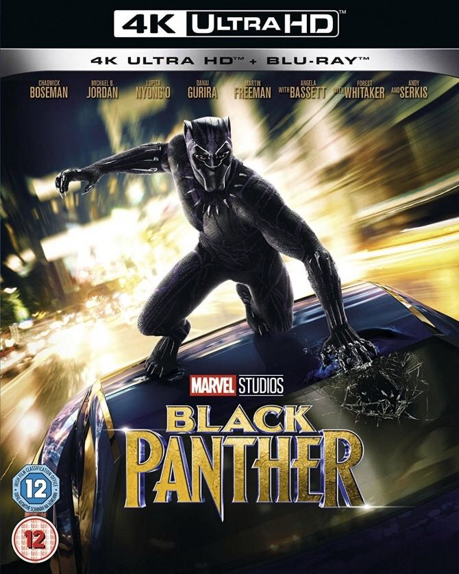 Black Panther UK Slipcover -  cover