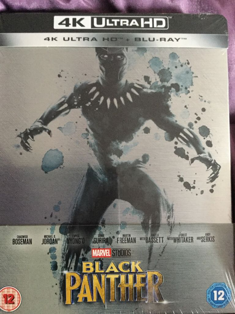 Black Panther (Steelbook) -  cover