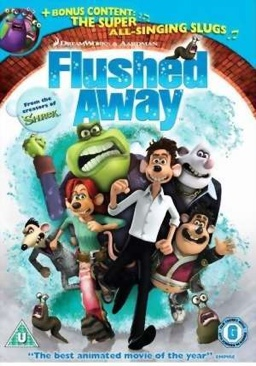 Flushed Away - Blu-ray cover