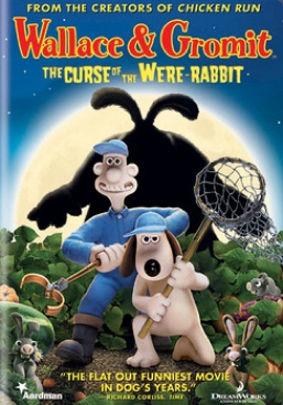 Wallace and Gromit: The Curse of the Were Rabbit - DVD cover
