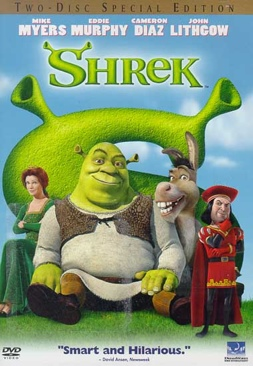 Shrek 2 - DVD cover