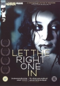 Let the Right One In - DVD cover