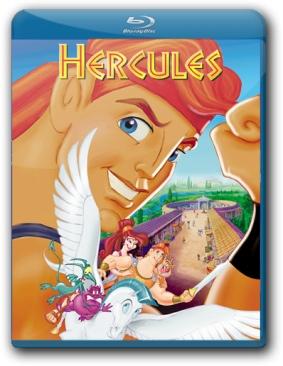 Hercules - Blu-ray cover