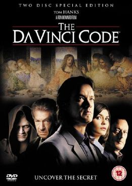 The Da Vinci Code - DVD cover
