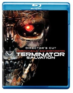 Terminator 4 Salvation - Blu-ray cover