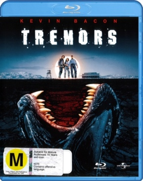 Tremors - Blu-ray cover