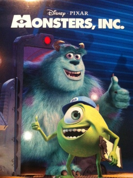 Monsters, Inc. - DVD cover