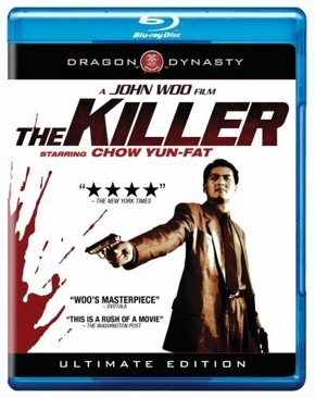 The Killer - Blu-ray cover