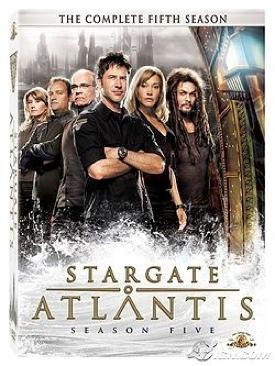 StarGate: Atlantis - DVD cover