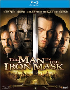 The Man in the Iron Mask - Blu-ray cover