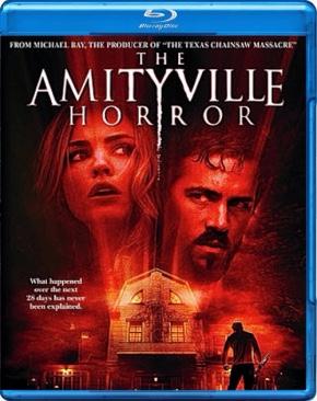 Amityville Horror - Blu-ray cover