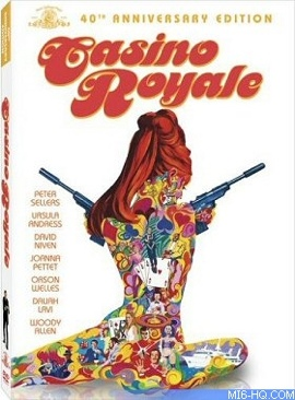 Casino Royale 1967 - DVD cover