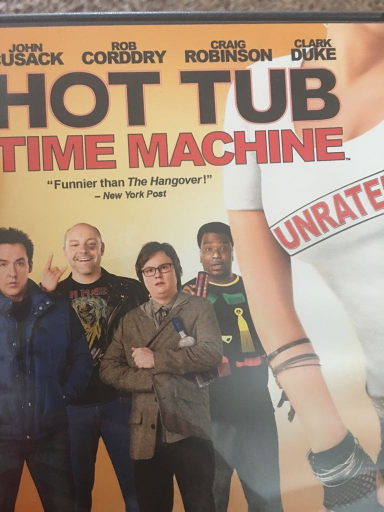 Hot Tub Time Machine -  cover