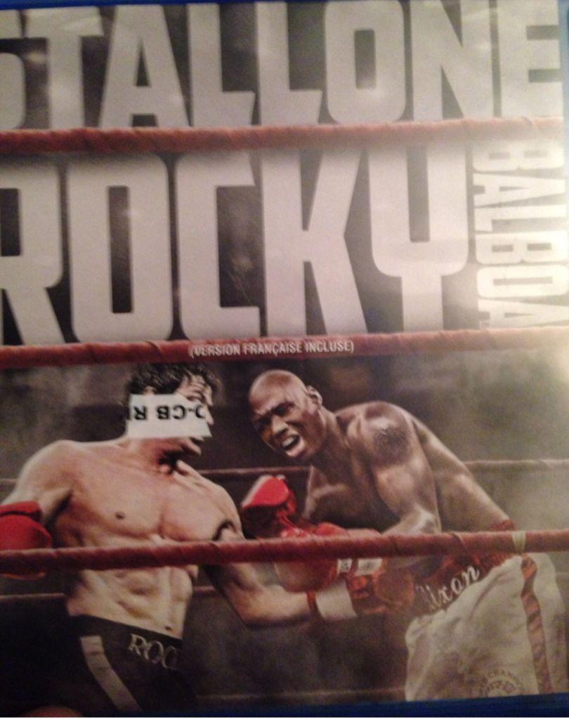 Rocky Balboa - HD DVD cover