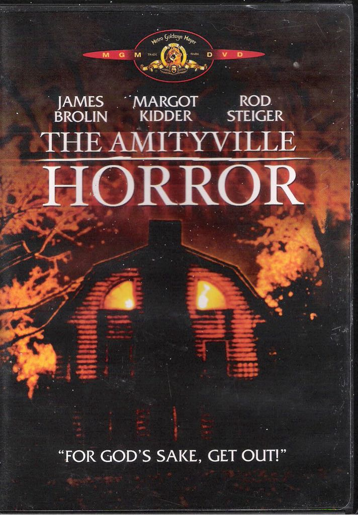 Amityville 1: The Amityville Horror (1979) (blu-ray) -  cover