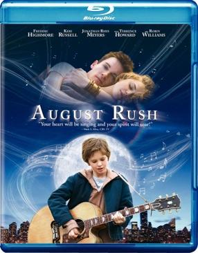 August Rush - Blu-ray cover