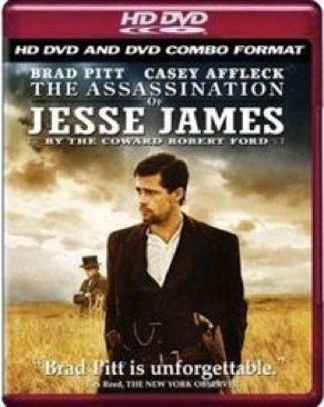 The Assassination of Jesse James by the Coward Robert Ford - HD DVD cover