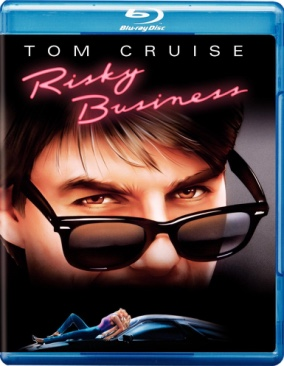 Risky Business - Blu-ray cover