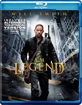 I Am Legend - HD DVD cover