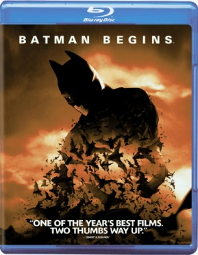 DC - Batman 1 Batman Begins (BR) - Blu-ray cover