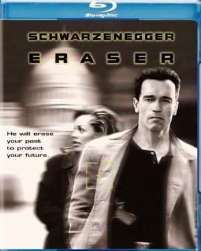 Eraser - Blu-ray cover
