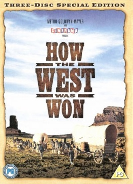 How the West Was Won - Video CD cover