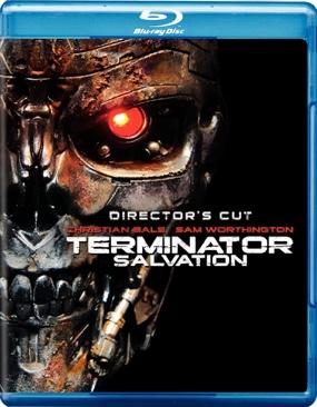 Terminator 4 - Salvation - Blu-ray cover