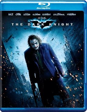 Batman: The Dark Knight - Blu-ray cover