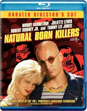 Natural Born Killers - Blu-ray cover