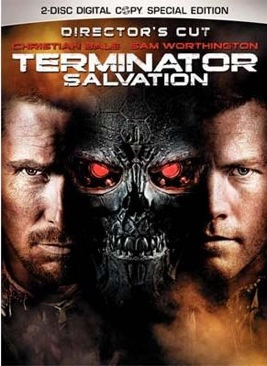 Terminator 4: Salvation - DVD cover