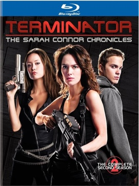 Terminator: The Sarah Connor Chronicles - Blu-ray cover