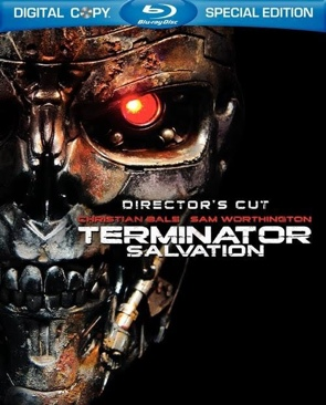 The Terminator.  4.  Salvation.   BR - Blu-ray cover
